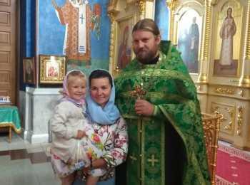 Отец Роман с семьей