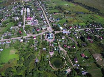 Покровский храм с воздуха